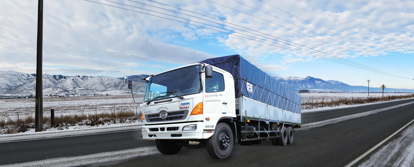 Xe tải Hino vua những cung đường